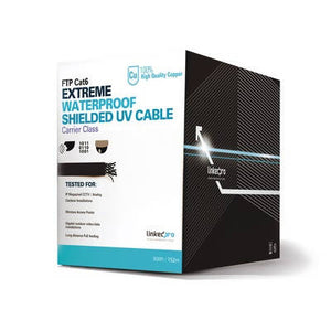 Bobina de cable de 152m Cat6+ (FTP) para intemperie - APE-Plazas