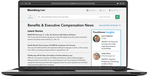 Benefits & Executive Compensation News