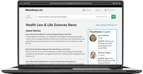 Health Law & Life Sciences News