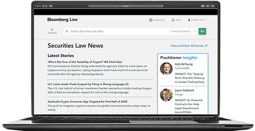 Securities Law News