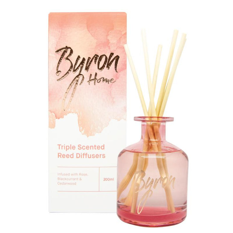 Byron Home Diffuser Red 200mL