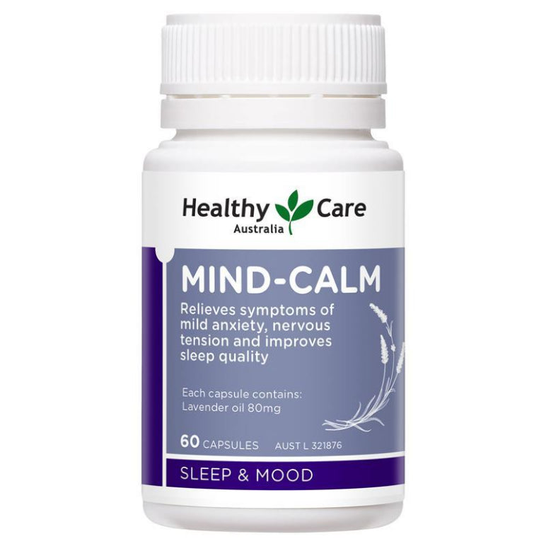 Healthy Care Mind-Calm Softgel 60 Capsules | Live Healthy Store HK - Healthy Care / Health