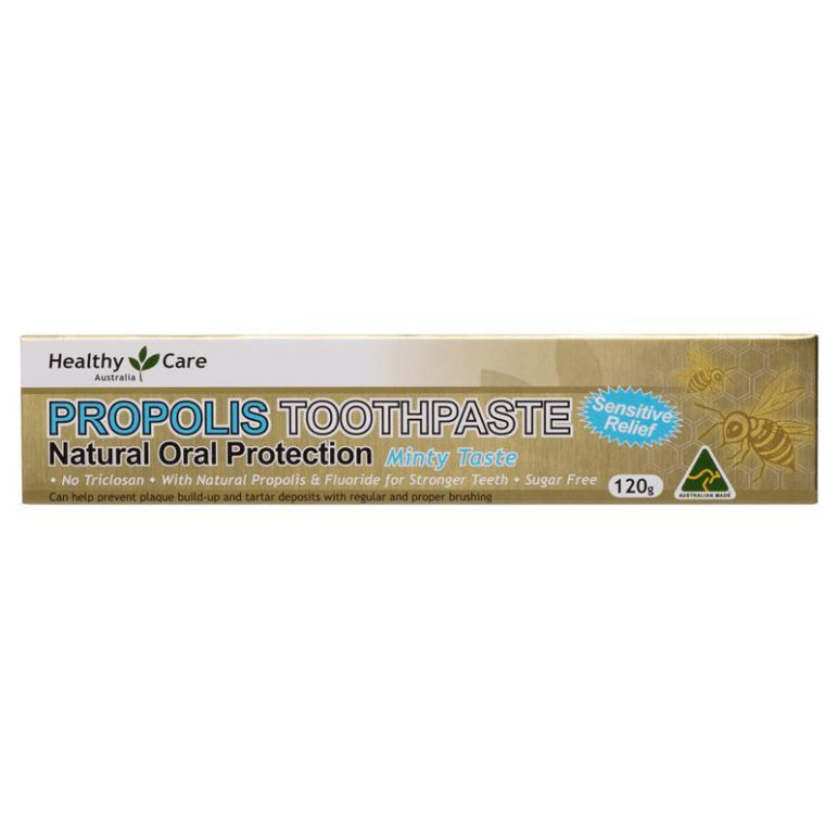 Healthy Care Propolis Toothpaste 120g | Live Healthy Store HK - Healthy Care / Health