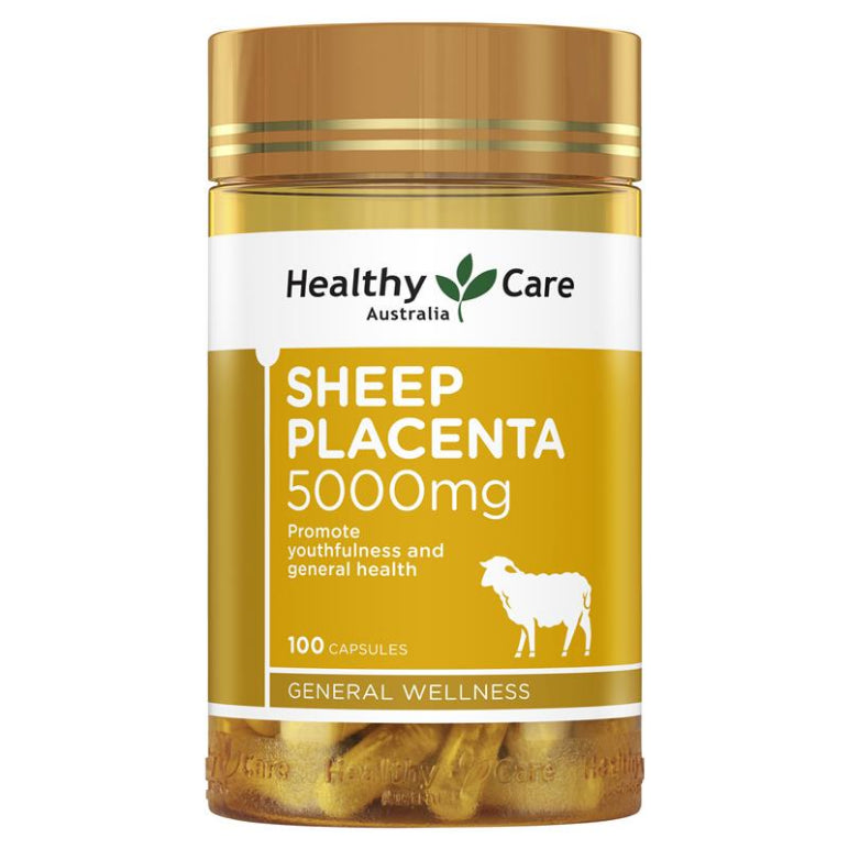 Healthy Care Sheep Placenta 5000mg 100 | Live Healthy Store HK - Healthy Care / Health