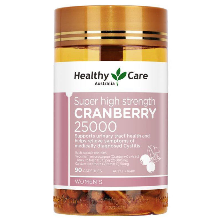 Healthy Care Super Cranberry 25000 90 Capsules | Live Healthy Store HK - Healthy Care / Health