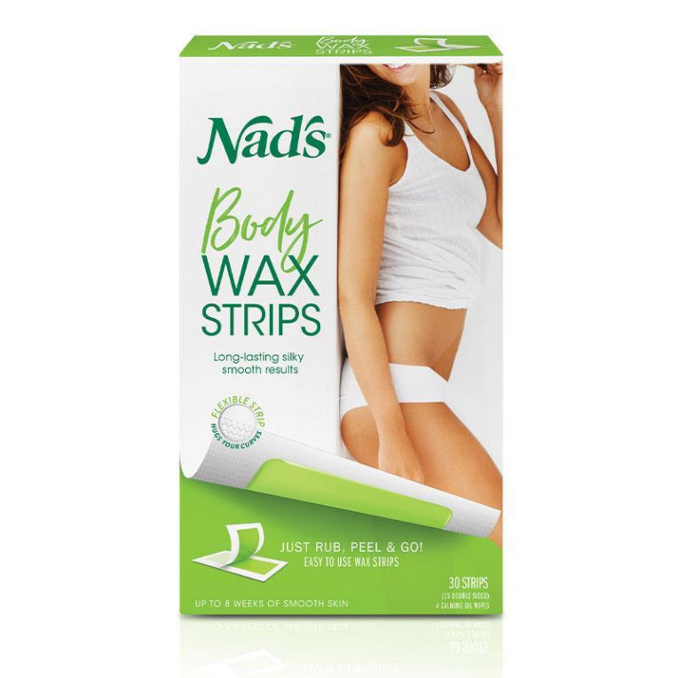 Nad's Body Wax Strips 30 | Live Healthy Store HK - Nad's / Beauty