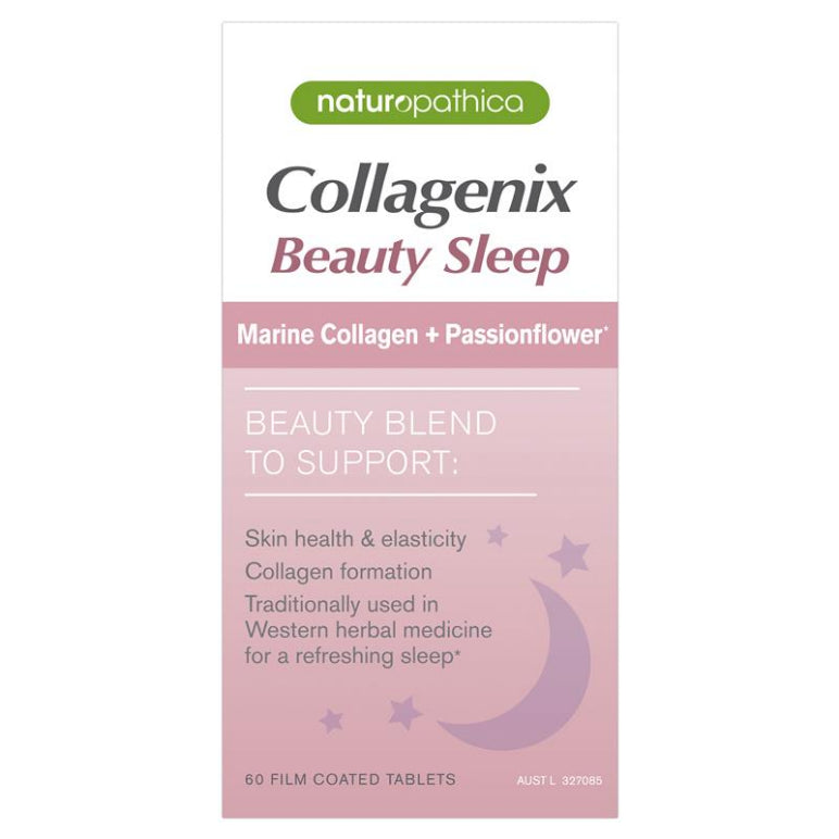 Naturopathica Collagenix Beauty Sleep 60 Tablets | Live Healthy Store HK - Naturopathica / Health