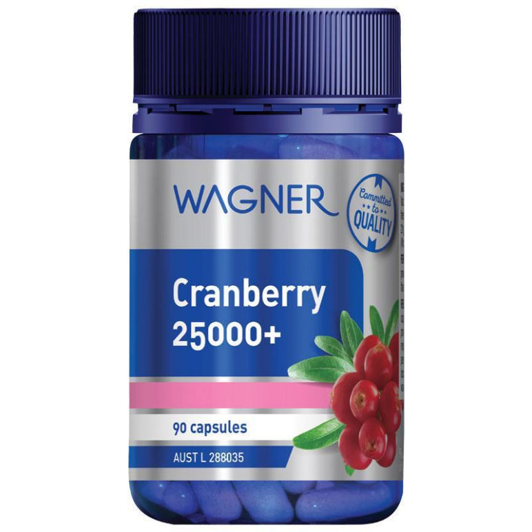 Wagner Cranberry 25000+ 90 Capsules