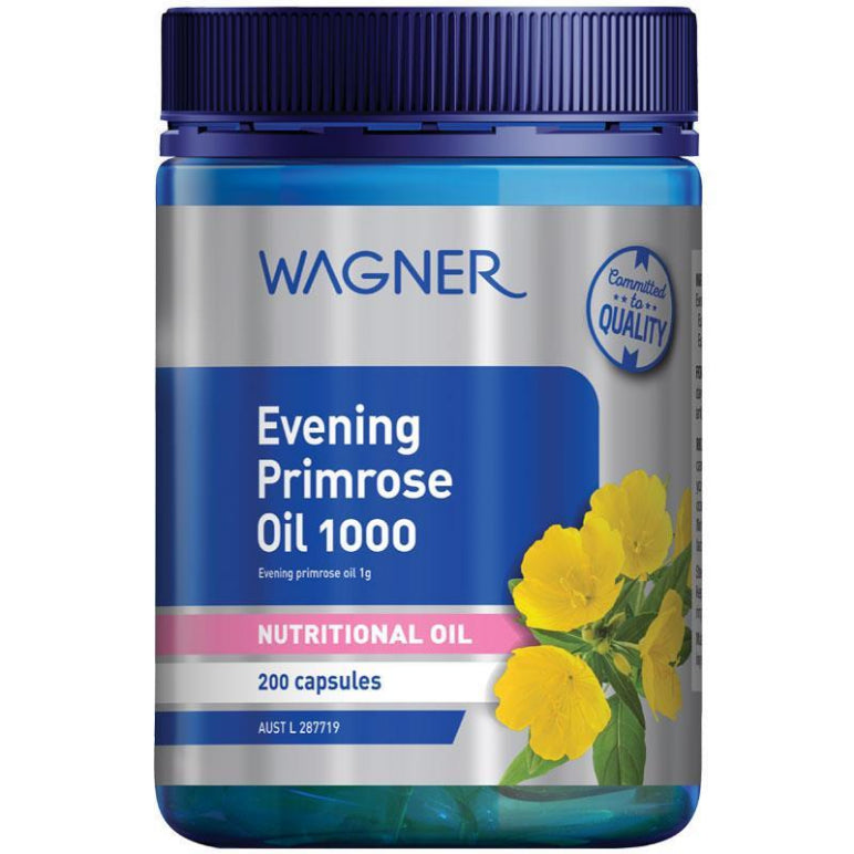 Wagner Evening Primrose Oil 1000 200 Capsules | Live Healthy Store HK - Wagner / Health
