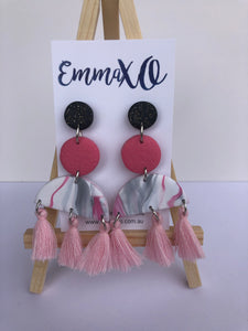 Statement Dangles in Pretty in Pink