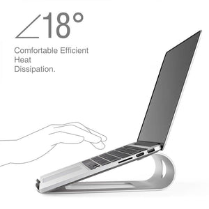 Ergonomic Aluminum Stand for MacBook