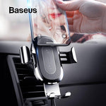 Baseus- Wireless Charging Gravity Car Mount