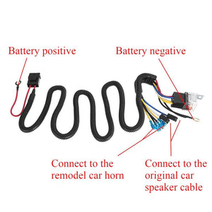 Electric Horn Wiring Harness Kit