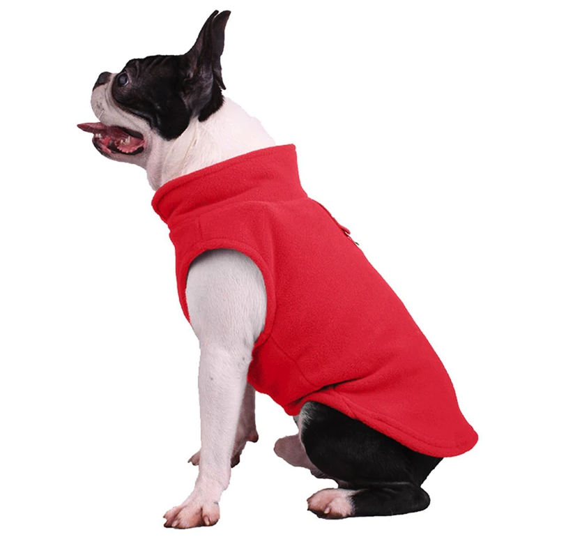 Winter Fleece Dog Jacket