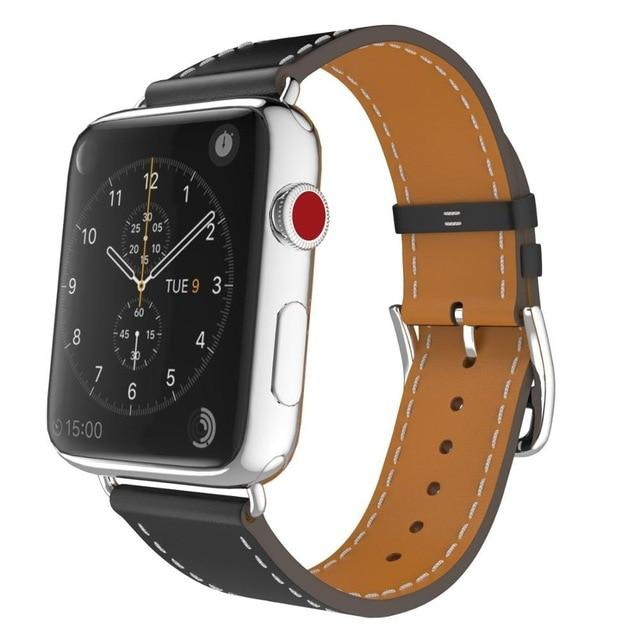 Classic Leather Band for Apple Watch