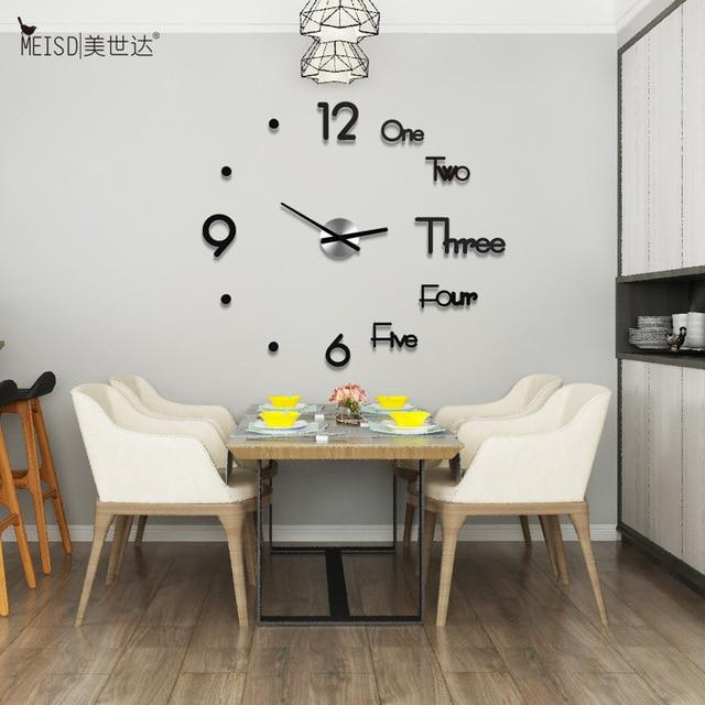3D DIY Luxury Wall Clock