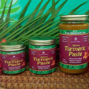 Sita's Turmeric Paste (Coconut Oil Base)