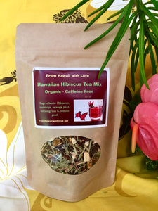 Hawaii Hibiscus Heavenly Tea