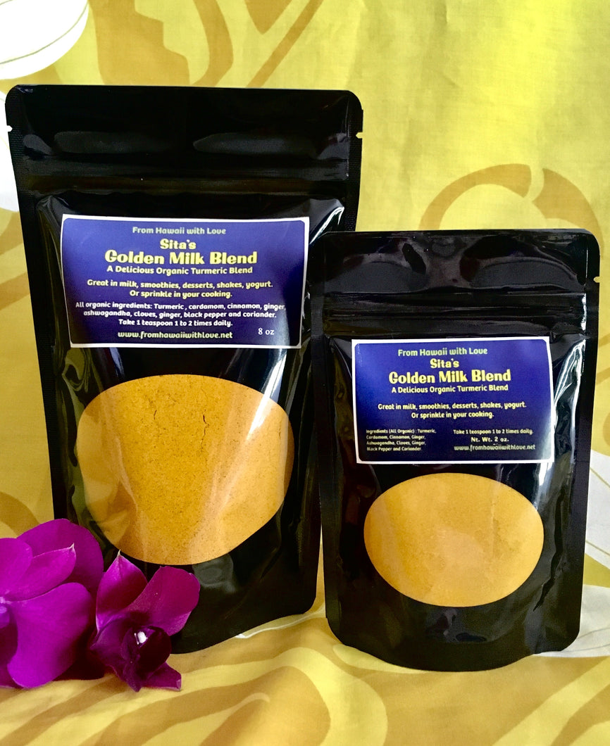 Sita's Golden Milk Blend (Organic)