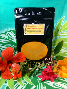 Turmeric Powder  (Organic)  Fresh Hawaii Grown