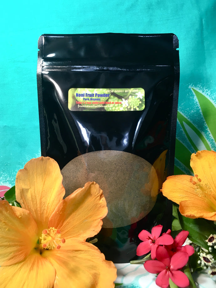 Hawaiian Noni Powder  (Raw- Organic)