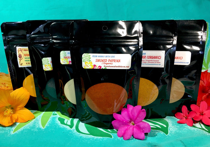 Hawaii Grown Spices  (Organic)