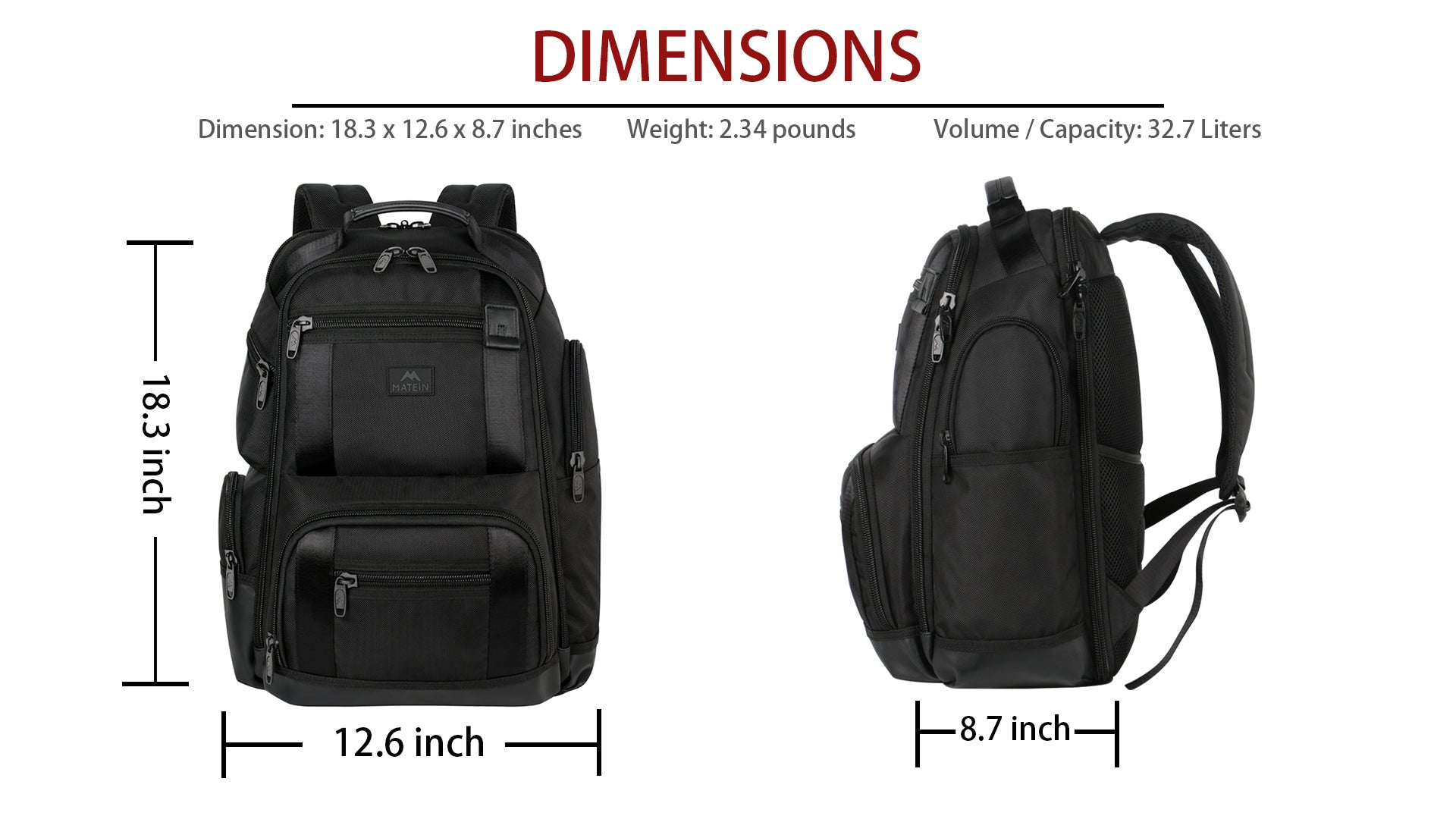 Matein Thamen Business Backpack