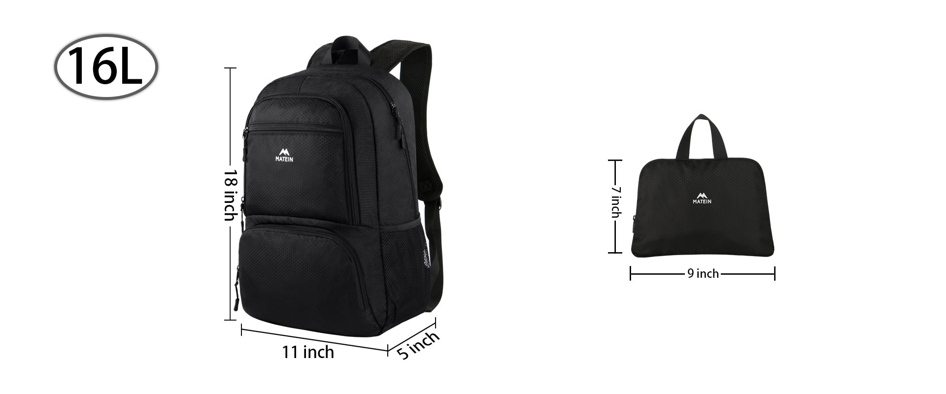 Matein Hiking Backpack