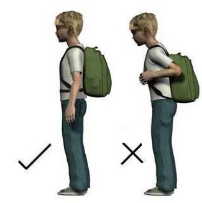 How to stop slipping shoulder strap of a backpack?