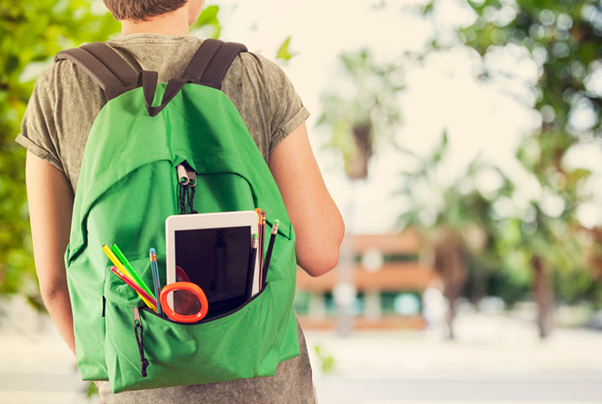 Do you need to reduce its weight when carrying a backpack make back sore?