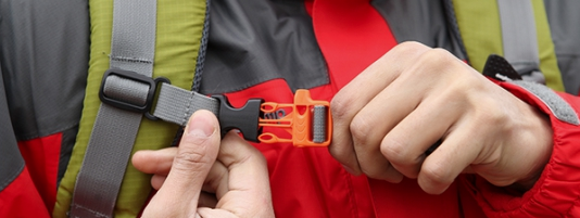 How to adjust the hiking backpack strap?