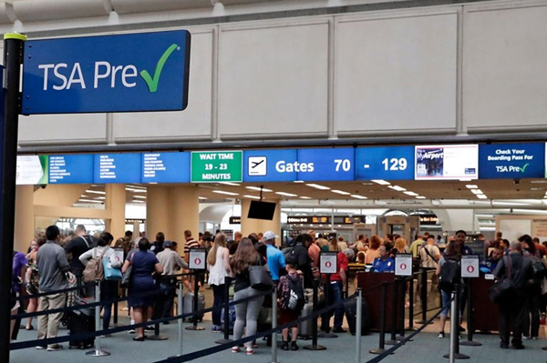 How to get through airport security fast?