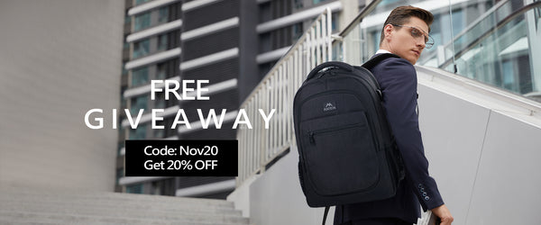 Free Matein Expandable Laptop Bookbag Giveaway
