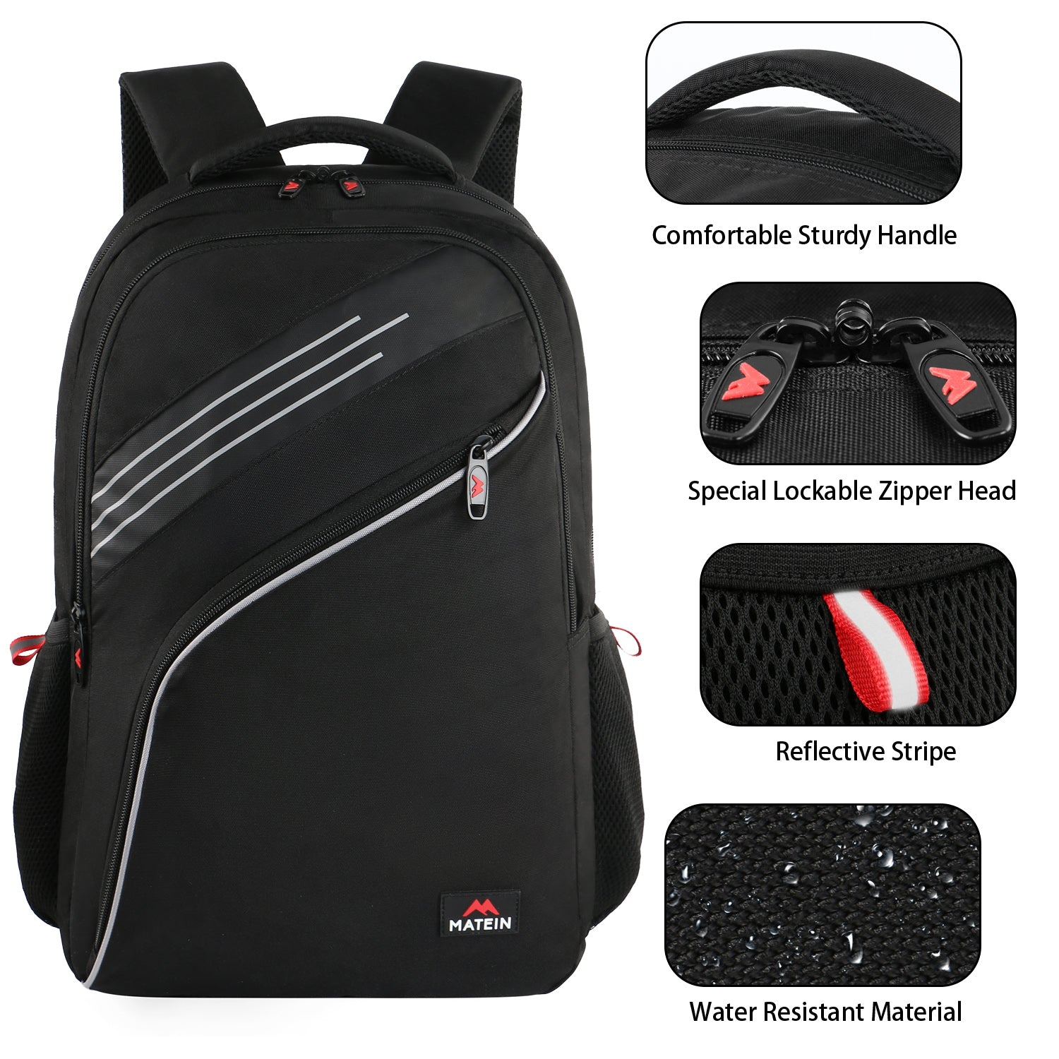 Matein Mijja Student Backpack