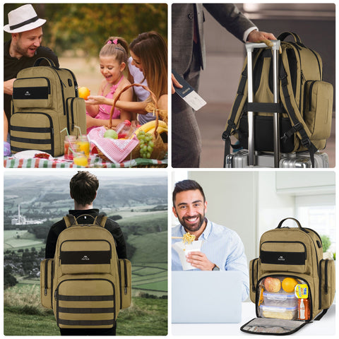 MATEIN Heavy Duty Backpack With Lunch Box Giveaway