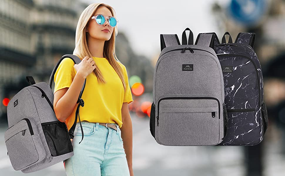 Matein Reversible Double Sided Backpack-backpacks for high schoolers
