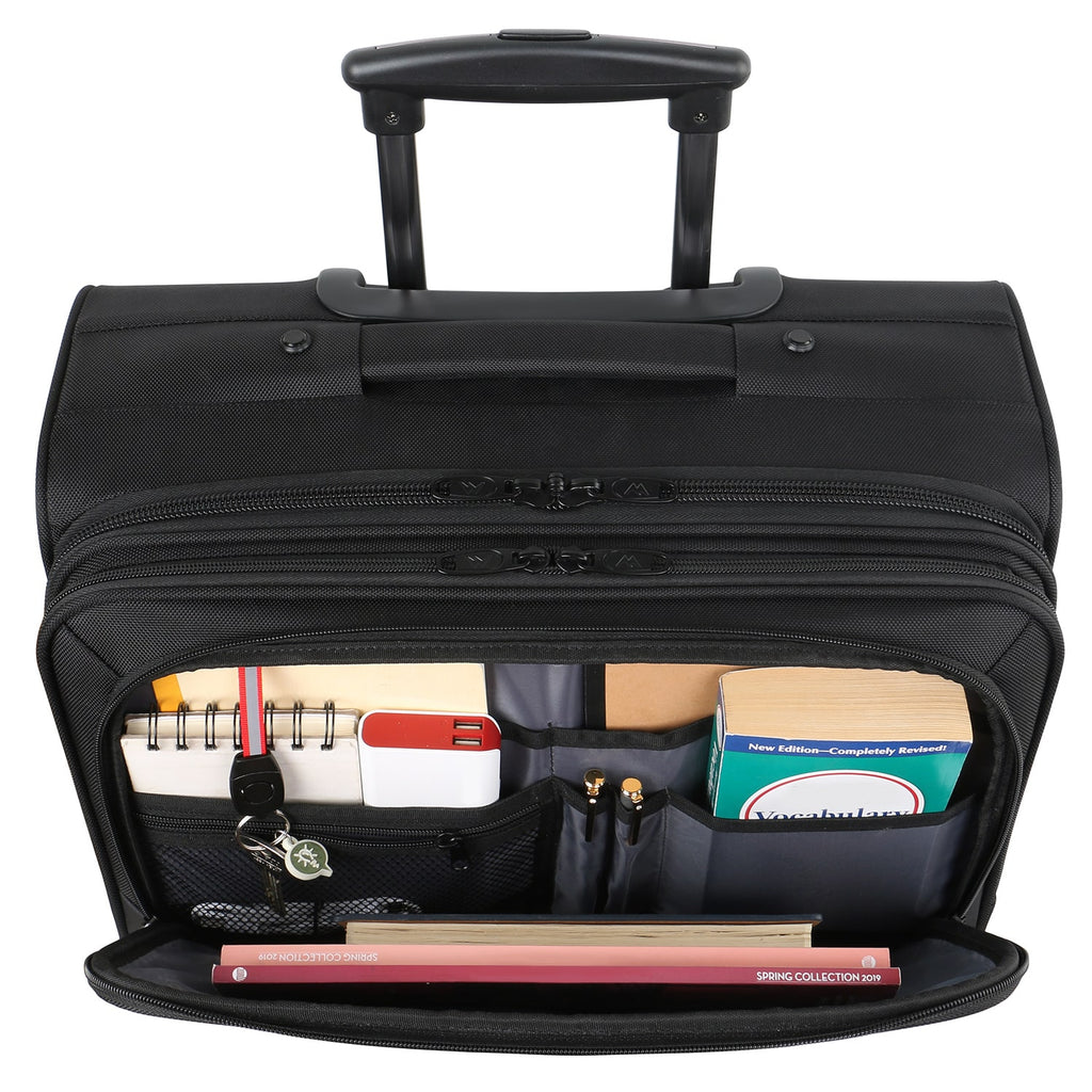 Matein Business Travel Rolling Briefcase