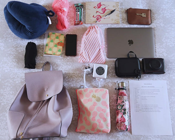 What is in my carry on backpack?