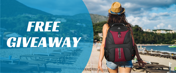 Matein Large Travel Backpack Giveaway
