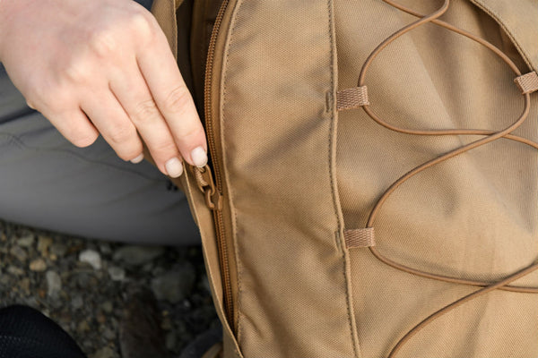 What are the commonly used accessories for backpack production?