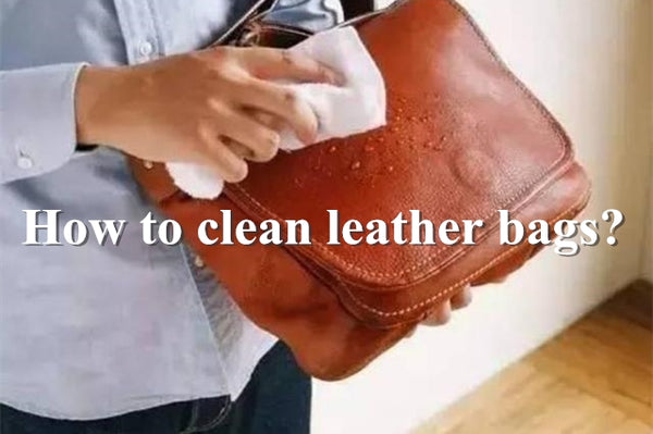 How to clean leather bags