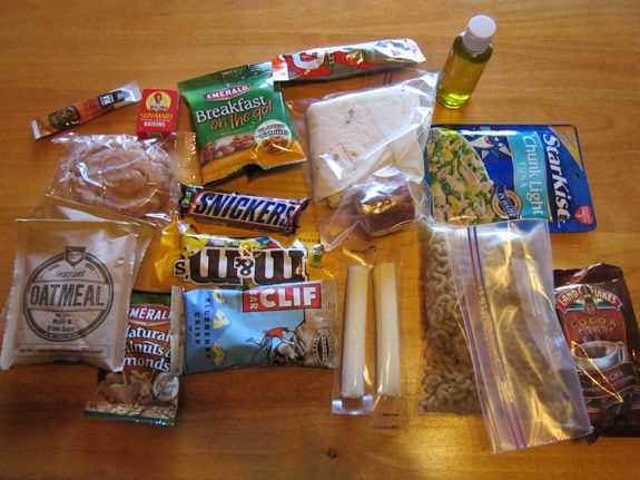 How to pack a food bag?