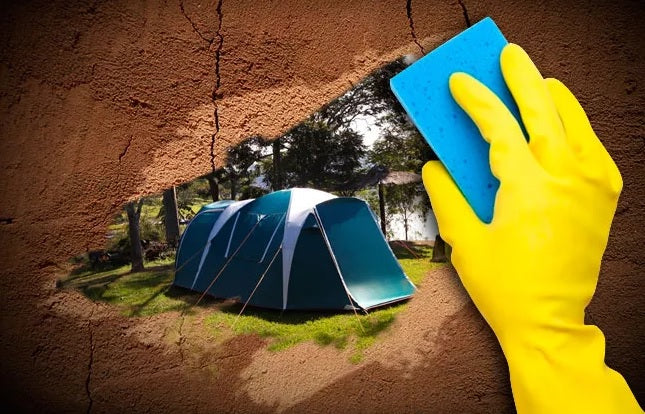 How to take care of a tent?