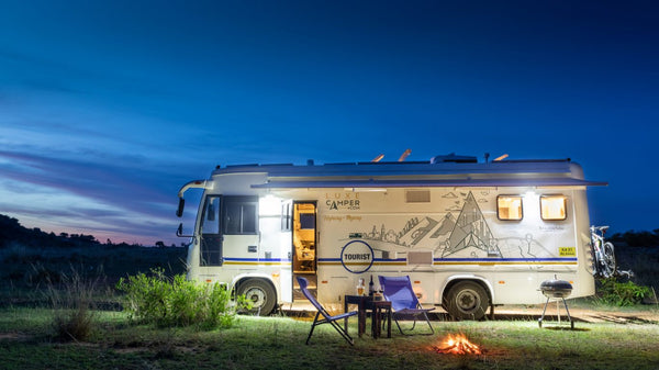 How to travel around the country in a campervan