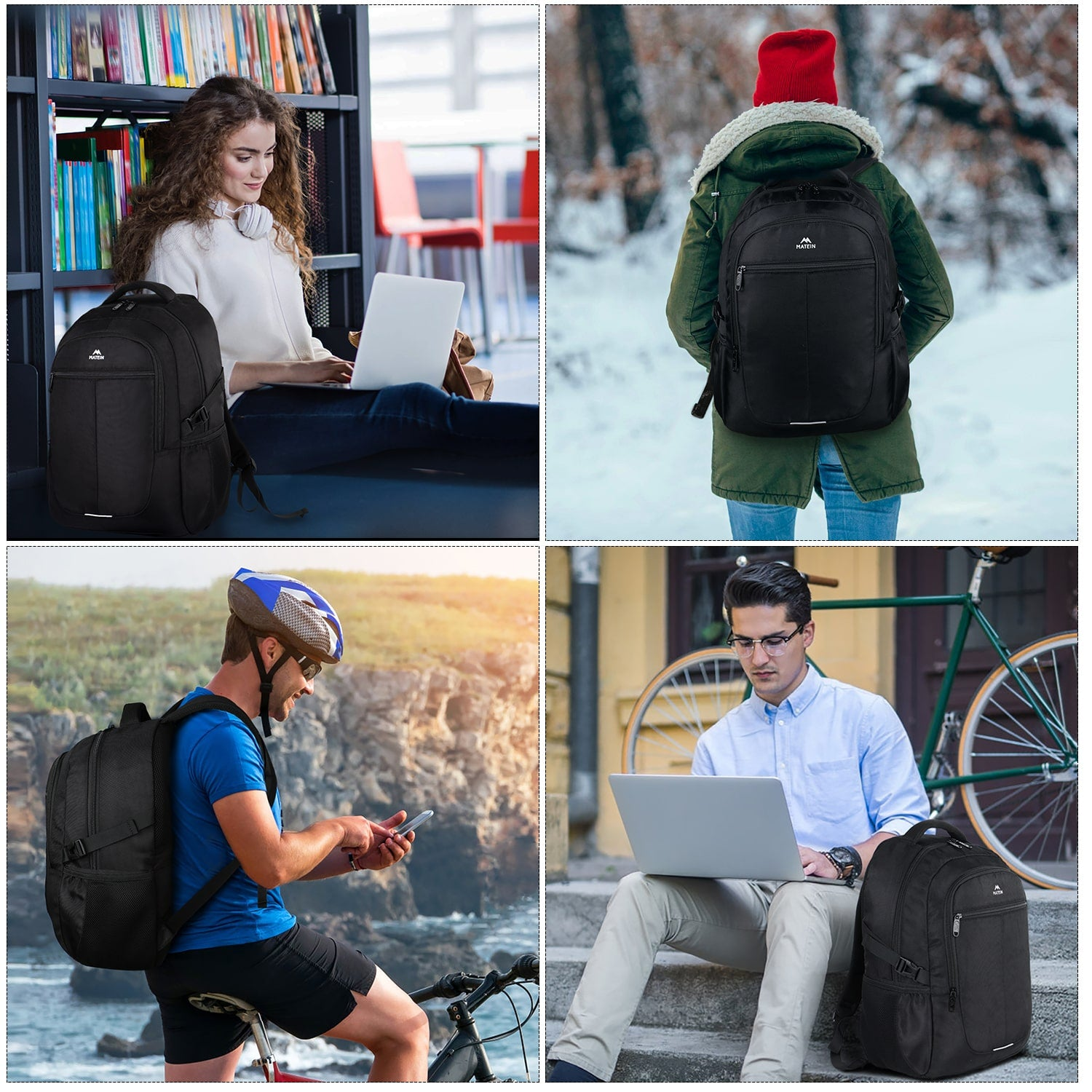 Matein Atak Laptop Backpack
