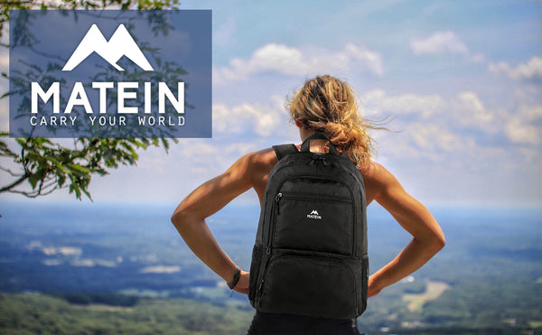 Matein Goff Hiking Lightweight Backpack