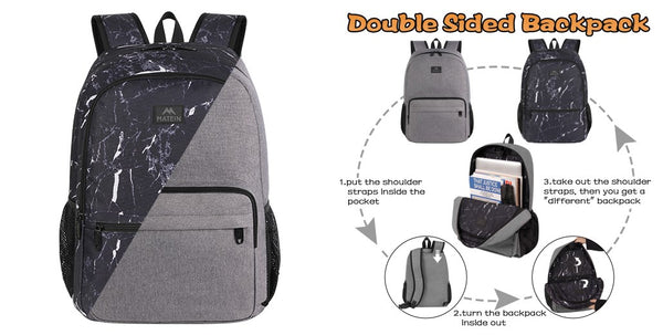 Be Creative with MATEIN Reversible Double-Sided Backpack