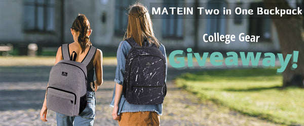 Matein Reversible Double Sided Backpack Giveaway