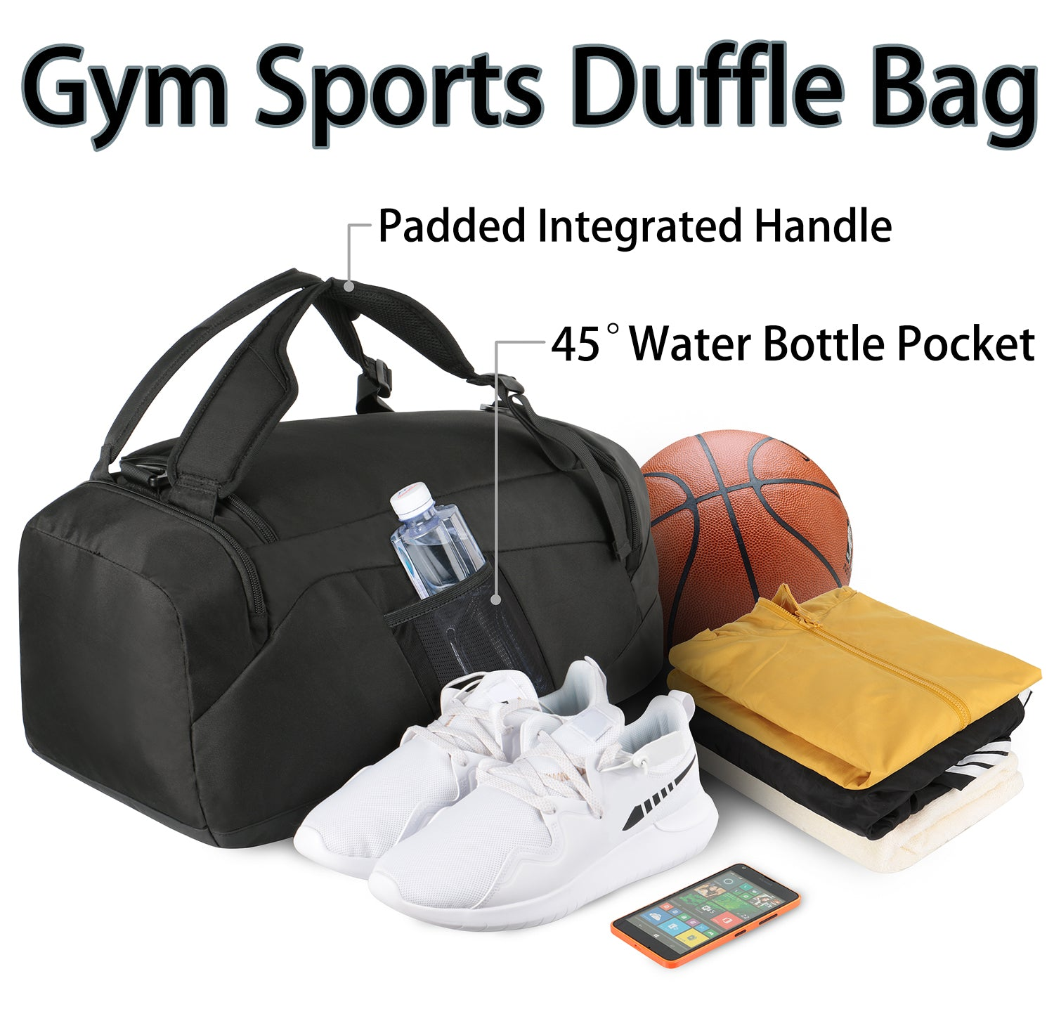 Matein Sports Convertible Duffle Bag