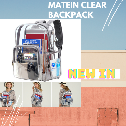 Matein Clear Backpack